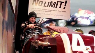 Kimi Räikkönen presenta la nueva campaña de promoción de Renault