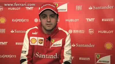 Felipe Massa habla sobre el inicio de la temporada 2013
