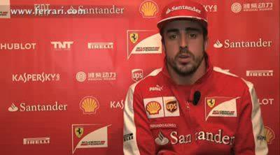 Fernando Alonso, contento con la preparación previa al Gran Premio de Australia
