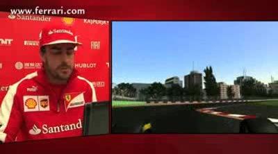 Una vuelta a Albert Park con Fernando Alonso