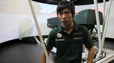Ma Qing Hua aterriza en Caterham como tercer piloto