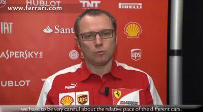 Stefano Domenicali habla sobre lo ocurrido en el GP de Australia 2013