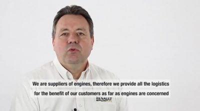 Entrevista con Jean-Pierre Raymond, jefe de lógistica de Renault