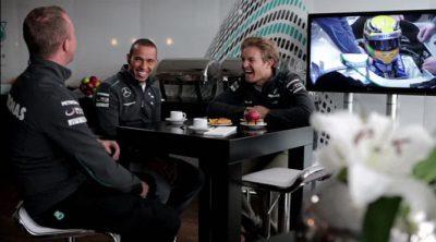 Nico Rosberg y Lewis Hamilton hablan sobre la concentración en la Fórmula 1