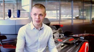 McLaren presenta a Kevin Magnussen, miembro de su programa de jóvenes pilotos
