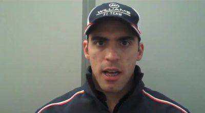 Pastor Maldonado habla de las mejoras de Williams para el GP de China 2013