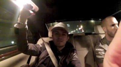 Nico Rosberg lamenta su abandono en China en su videoblog