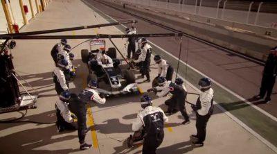 Detrás de cada pitstop de Williams: Dickie Stanford, mánager del equipo