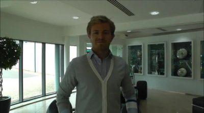 Nico Rosberg, de vuelta al trabajo en la fábrica de Mercedes
