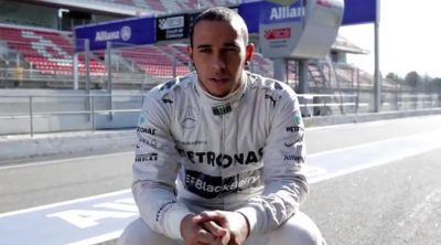 Lewis Hamilton y Nico Rosberg discuten sobre las trazadas