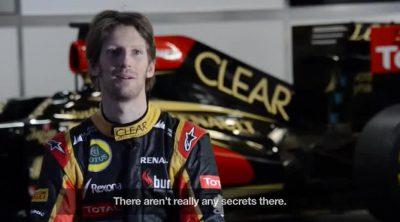 Romain Grosjean analiza Montmeló, sede del Gran Premio de España 2013