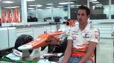 Entrevista a Adrian Sutil antes del Gran Premio de España 2013