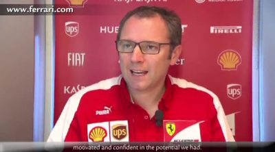 Stefano Domenicali valora el doble podio de Ferrari en el GP de España 2013