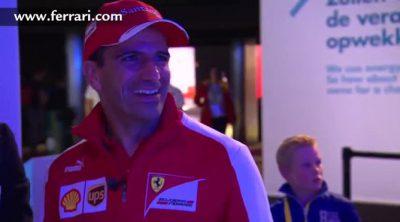 Marc Gené en la presentación del Shell Eco-Marathon