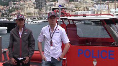 Los pilotos de Sauber responden a los fans desde el puerto de Mónaco