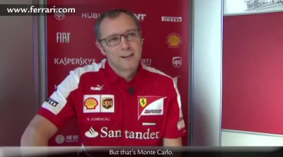 Stefano Domenicali valora el discreto Gran Premio de Mónaco de Ferrari