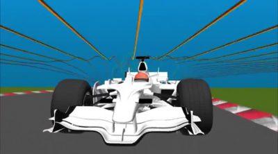 Simulación de CFD sobre el Sauber de 2008
