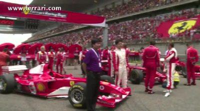 Ferrari asalta el circuito de Shanghai con su programa de F1 Clienti