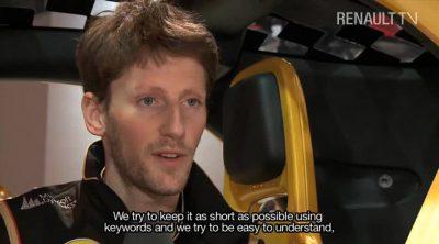 Entrevista con Romain Grosjean sobre la temporada 2013