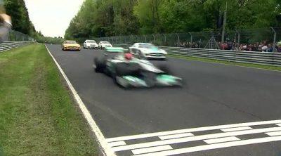 Mercedes asaltó Nordschleife con cinco de sus mejores joyas