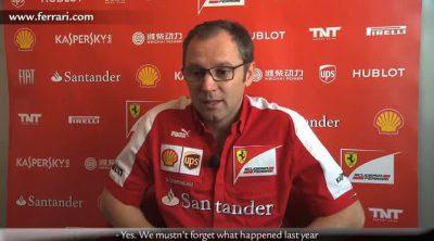 Stefano Domenicali lamenta el mal sábado de Ferrari en el GP de Canadá 2013