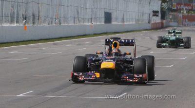 Mark Webber se quedó sin podio pero logró la vuelta rápida en Canadá