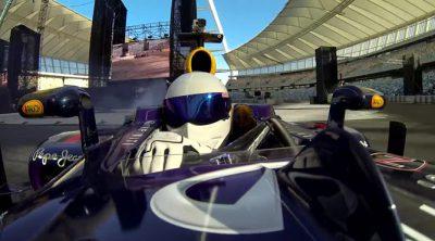 The Stig se sube a un Red Bull de Fórmula 1 en Sudáfrica