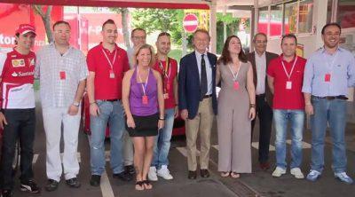 Día de la familia en la sede de Ferrari