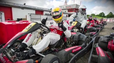 Resumen del evento 'Race Against McLaren'