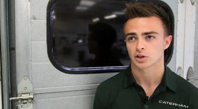 Will Stevens se incorpora a Caterham Racing Academy