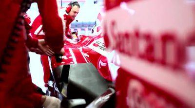 El equipo Ferrari afronta el Gran Premio de Gran Bretaña 2013