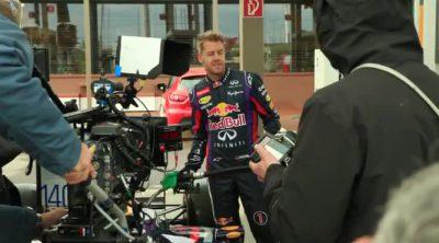Así se hizo el anuncio de Sebastian Vettel y Total