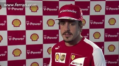 Fernando Alonso visita el Shell Technology Centre de Hamburgo