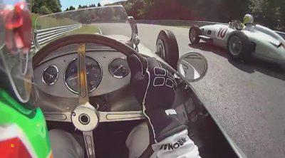 'On board' con Lewis Hamilton en Nordschleife con el W154
