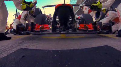 Jenson Button explica las claves de un buen 'pitstop'