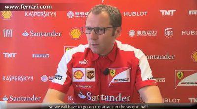 Stefano Domenicali analiza el Gran Premio de Alemania 2013