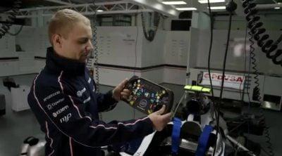 Valtteri Bottas analiza un Fórmula 1 (5/5): el volante