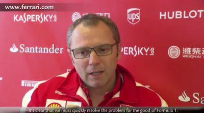 Stefano Domenicali habla del Gran Premio de Gran Bretaña