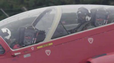 Teaser: la vuelta de Lewis Hamilton con las Red Arrows