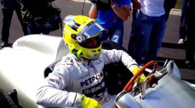 Michael Schumacher y Nico Rosberg en Nordschleife (on board)