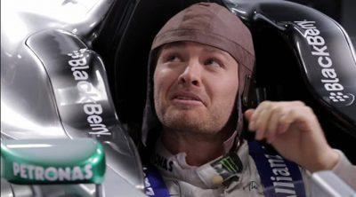 Nico Rosberg y Lewis Hamilton analizan la importancia del casco