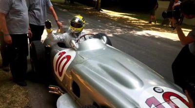 Detrás de las cámaras con Nico Rosberg en el Festival de Goodwood 2013