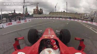 'On board' con Kamui Kobayashi en el Moscow City Racing