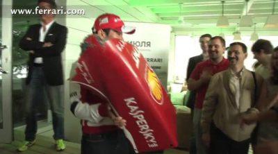 ¿Qué pasó con el morro del Ferrari que Kamui Kobayashi destrozó en Moscú?