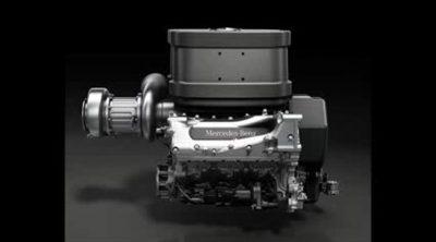 Así suena el nuevo motor turbo V6 de Mercedes para 2014