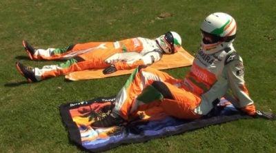 """Las """"vacaciones"""" de los mecánicos de Force India"""