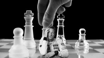 El Santander y Jenson Button parodian los anuncios de perfumes
