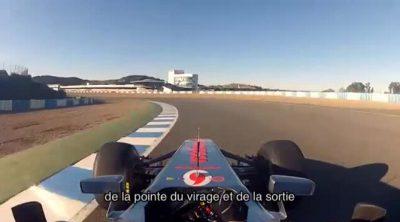 Academia de conducción Jenson Button: la trazada