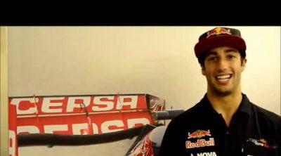 Daniel Ricciardo habla sobre el GP de Bélgica 2013