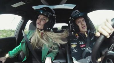 Sebastian Vettel y su concurso de contención de gritos